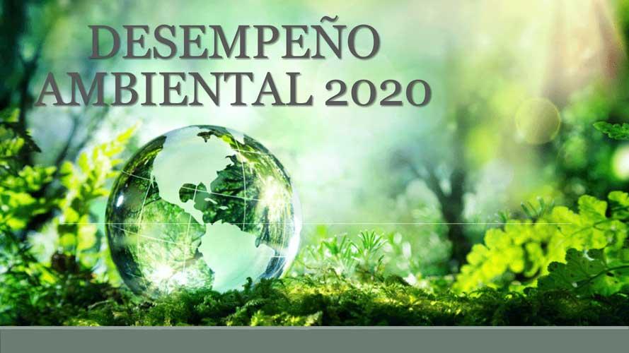 Desempeño ambiental 2020
